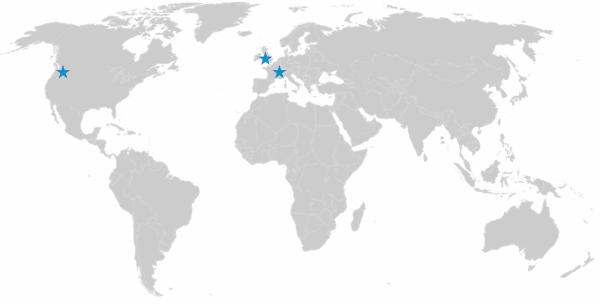 Infodream est présente dans le monde en France, au Royaume-Uni et aux Etats-Unis.