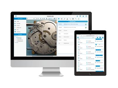Check'n Go, logiciel de suivi de production en atelier, notamment pour l'horlogerie