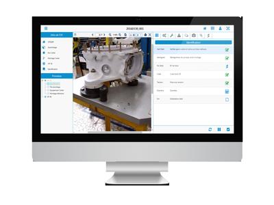 Le logiciel Check'n Go permet aux opérateurs de suivre des instructions de travail électroniques.